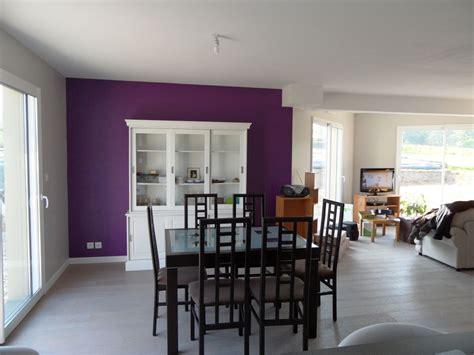 peinture grise et violet pour salon s 233 jour cuisisne
