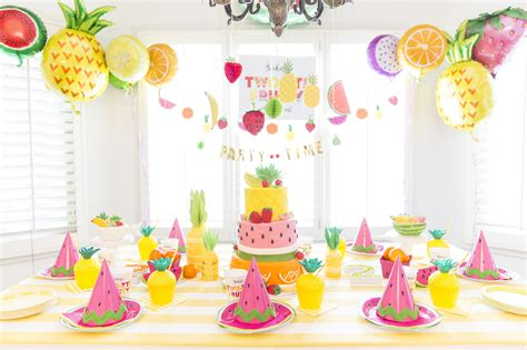 Two tti Fruity PartyTots to Teens