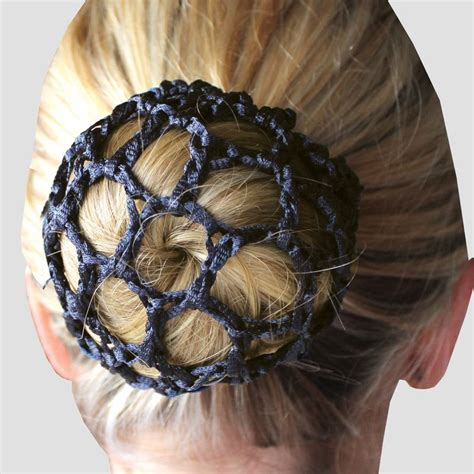 crochet pattern bun net equetech crochet bun net