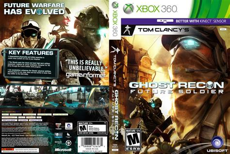 printable xbox 360 game covers tom clancy s ghost recon future soldier xbox 360 game