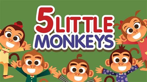 5 little monkeys jumping on the bed song five little monkeys jumping on the bed nursery rhymes song with lyrics cartoon