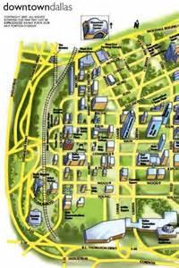 key dallas downtown map