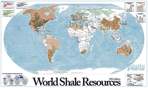 World Atlas Of And Gas Basins world shale resources map global maps and geospatial platts