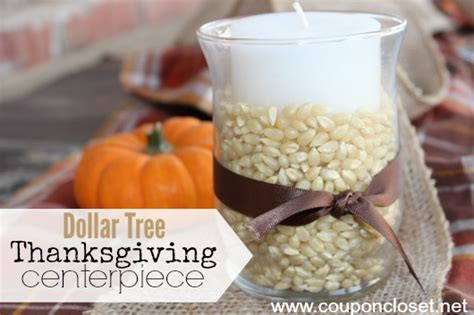 How To Make A Candy Vase Dollar Store Diy Thanksgiving Decoration Idea Amp Fall
