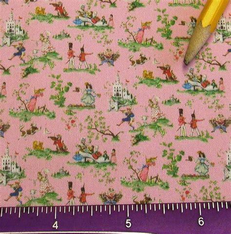 nursery upholstery fabric dollhouse miniature victorian upholstery fabric pink nursery