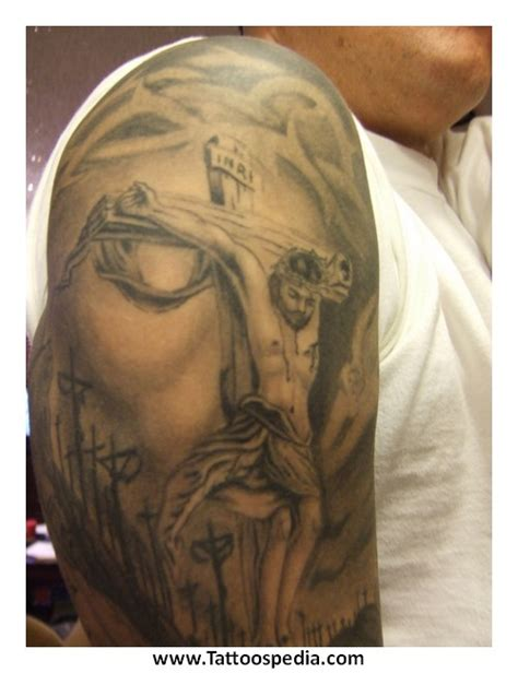 cross tattoos with jesus inside cross cross tattoos jesus 1