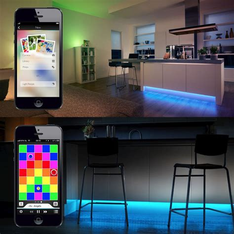 how philips hue lights work buy philips hue lightstrips plus 2m free shipping