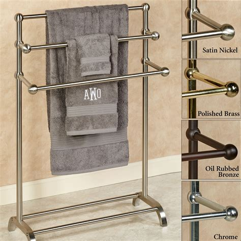 Bathroom Towel Holder Stand Three Tier Towel Rack