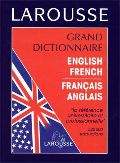 anglais franais dictionnaire la librairie