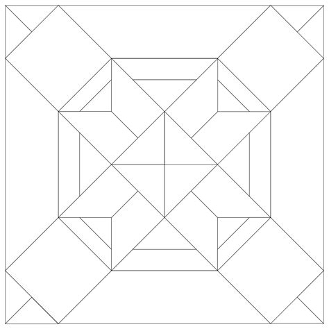 imaginesque quilt block 34 pattern and templates