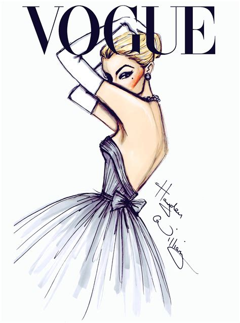 fashion illustration painting vogue fashion illustrations by hayden williams a side of vogue