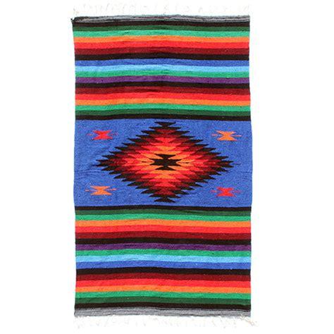 mexican blanket rug buy mexican blanket rug at siesta crafts