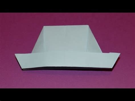 How To Make A Big Paper Hat - how to make an origami hat 02
