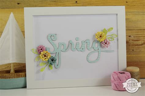 diy spring home decor diy spring home d 233 cor st scrapbook expo