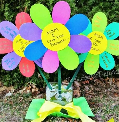 Craft Ideas For S Day Mother S Day Craft Ideas For And Adults