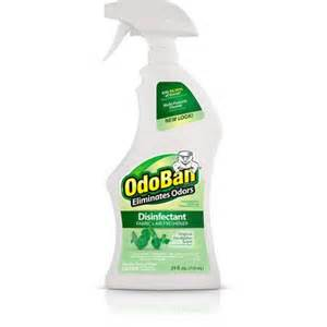 Odoban Air Freshener Spray Odoban Original Eucalyptus Scent Disinfectant Fabric Air
