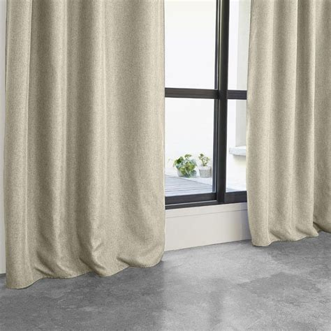 Rideau Occultant Beige by Rideau Occultant Quot Maille Quot 140x260cm Beige