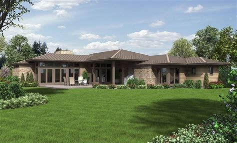 contemporary ranch house plans ranch house plans