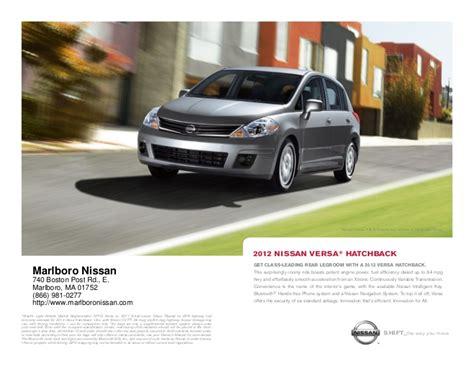 nissan in marlboro ma 2012 nissan versa hatchback for sale ma nissan dealer in