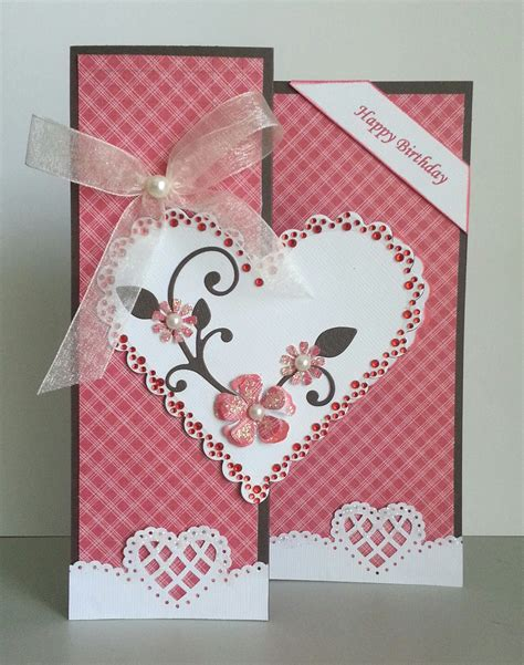 Handmade Birthday Cards For Lover - handmade greeting cards paper blossoms