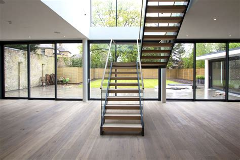contemporary staircase modern staircase design british design build manufacturer