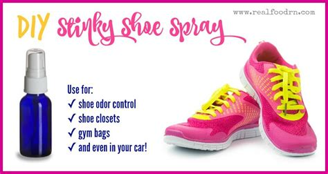 diy shoe spray diy stinky shoe spray for odor
