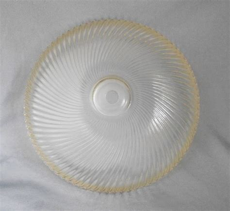 glass ceiling light cover 1950s vintage holophane swirled ribbed glass ceiling light cover shade in x sold gallery