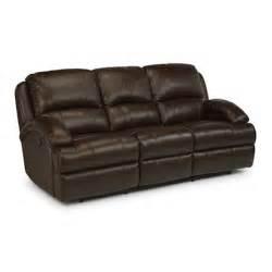 flexsteel leather sofa flexsteel 1242 62p fast leather power reclining sofa