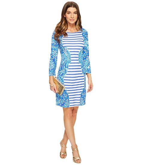 Dress Lilly etounes gt lilly pulitzer meg dress shorely blue islamorada