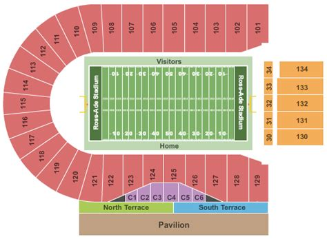 penn state football seating chart penn state football tickets seating chart ross ade