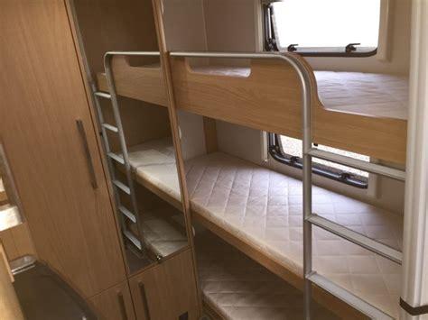 rv bed ideas caravan bunk search caravan ideas