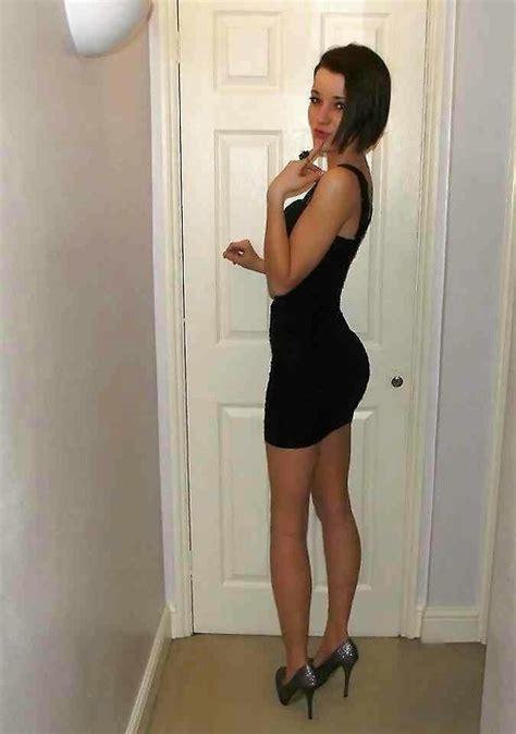 little black dress crossdresser little black dress dresses and skirts pinterest