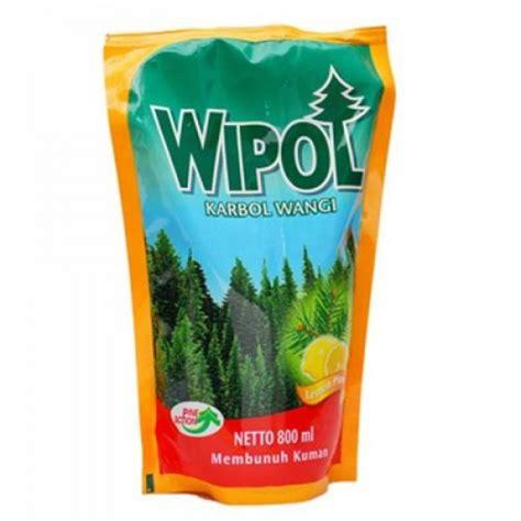 Wipol Karbol Lemon Ref 800ml wipol lemon pine 800ml