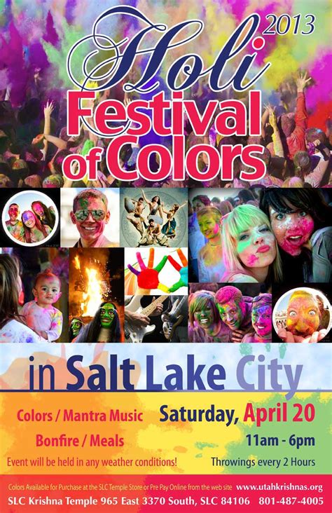 color festival utah holi the festival of colors slc out and about