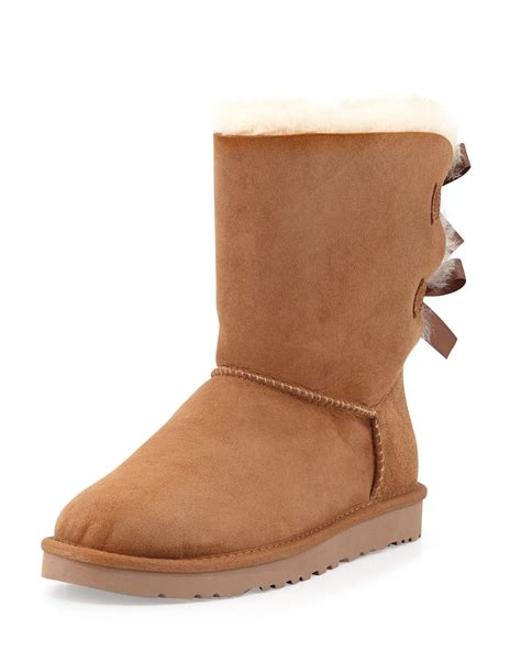 ugg boots bows on back ugg australia bailey bow back boot in brown