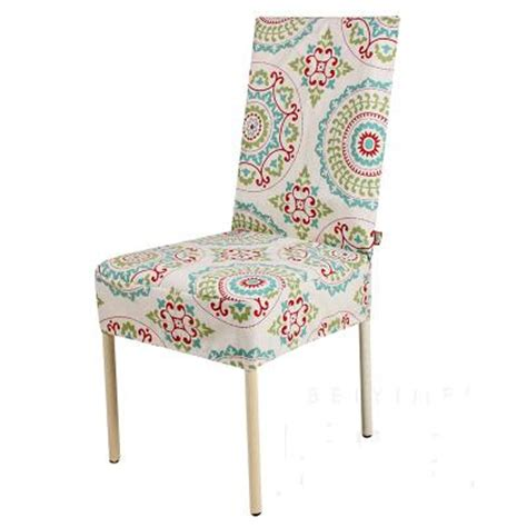 Canvas Dining Chair Covers 2016 Classic Style Eurpe Chair Cover Printed Cotton Stuhlhussen Home Dining Chair Seat Covers