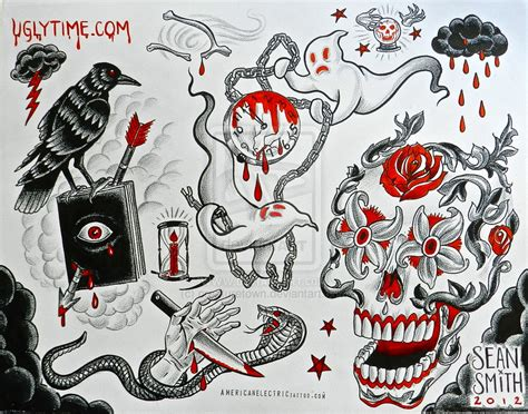 tattoo flash art sheets tattoo flash sheets google search nick s designs