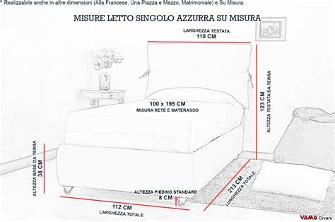 quanto misura un letto matrimoniale letto singolo su misura in tessuto rosso con contenitore