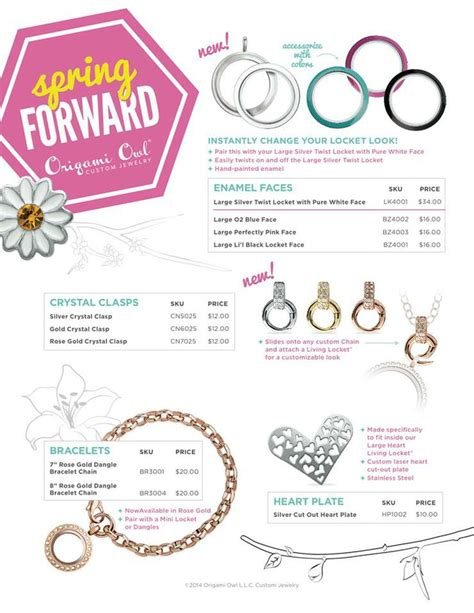 Origami Owl Catalog - origami owl collection 2014 robinson