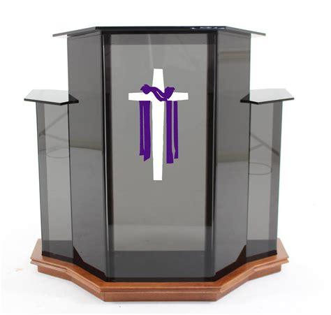 Church Pulpit Furniture smoked ambassador pulpit