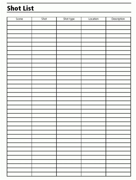 director list template 28 director list template list template