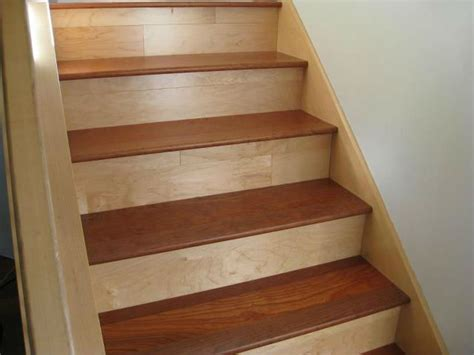 holz treppenstufen stair tread solid wood unfinished bullnose sizes