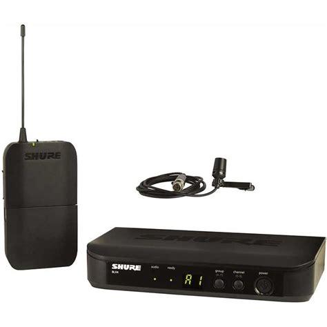 Mic Wireless Shure Klv 5 2peggang shure blx14 cvl wireless lapel lavalier mic system m17 lapel lavelier systems store dj