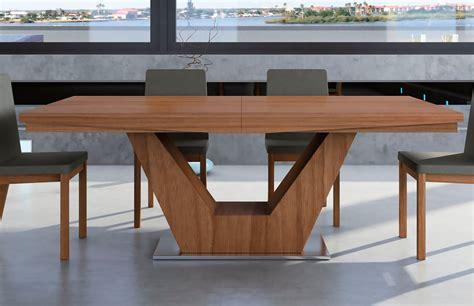 mesas de comedor modernas mesa de comedor extensible moderna verona demarques es