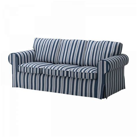 stripe slipcover striped sofa covers free ship american style blue striped