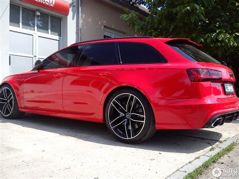 Audi Rs6 Rot by Audi Rs6 Avant C7 2015 30 May 2015 Autogespot
