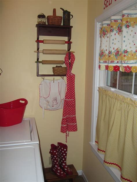 utility room curtains catherine holman folk art laundry room curtain tutorial