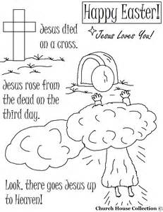 resurrection coloring pages easter coloring pages