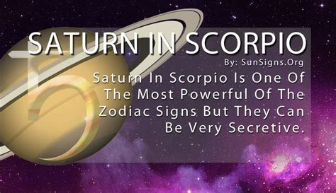 saturn in scorpio saturn in scorpio sun signs