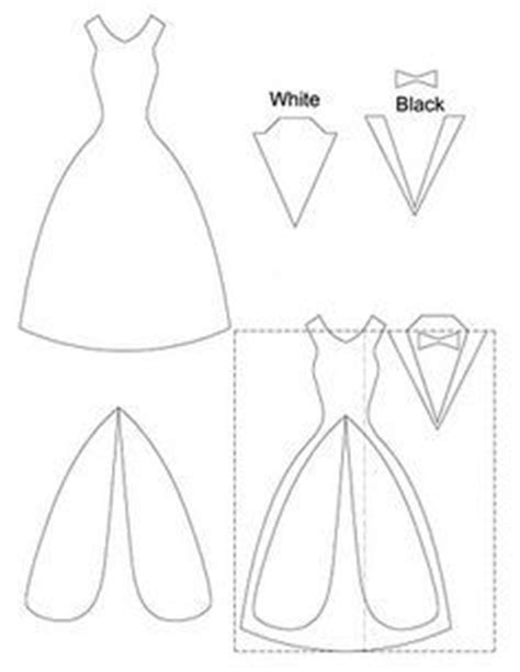 wedding scroll dress and tux card template diy wedding card dress tux trifold printable diy